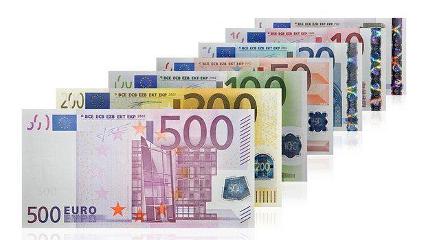 notas de euro - Quanto é o salário minimo de Portugal?