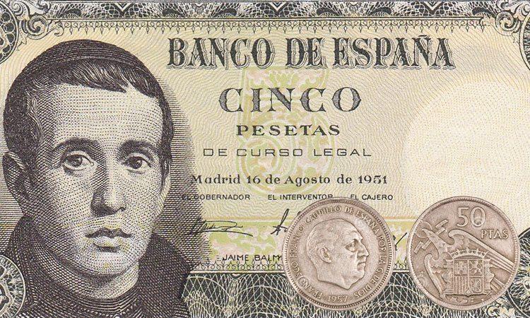 moeda da Espanha