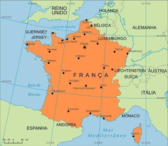 mapa da França 4 - Segredos do mapa da França