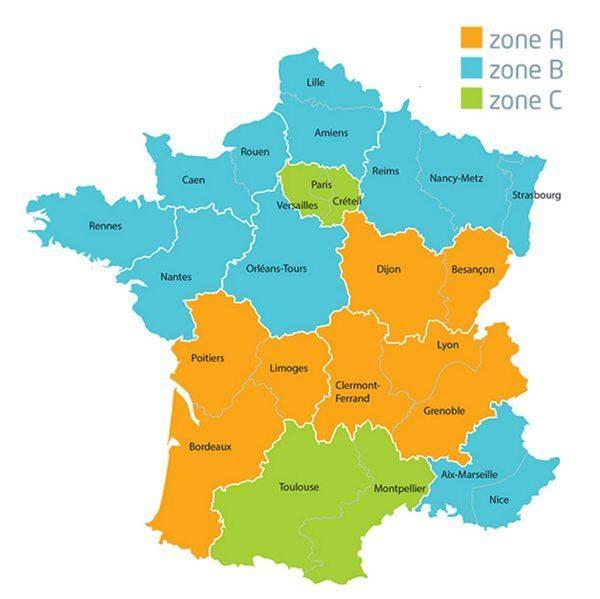 mapa da França