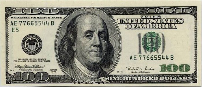 moeda dos Estados Unidos