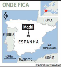 onde fica Madrid