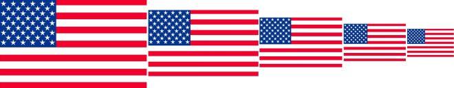 bandeira dos Estados Unidos 5 - Conheça a bandeira dos Estados Unidos